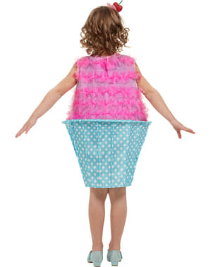 Disfraz de cupcake para niña