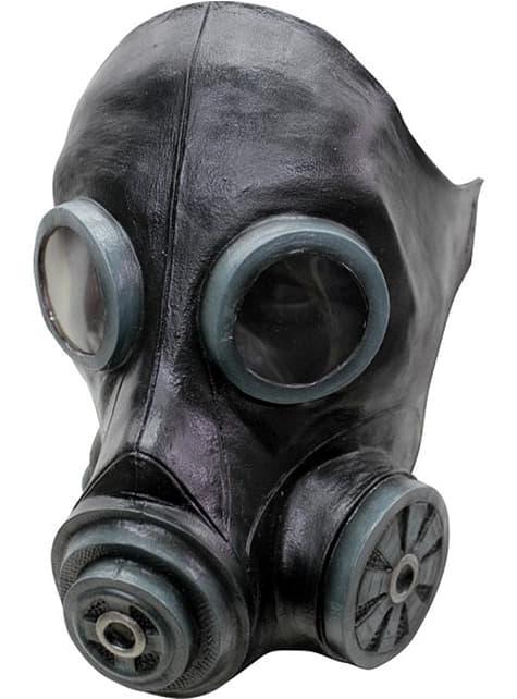 Máscara antigás negra