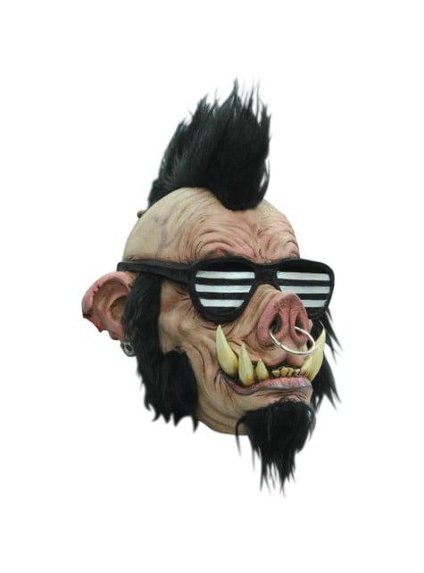 Máscara Jabalí Punk