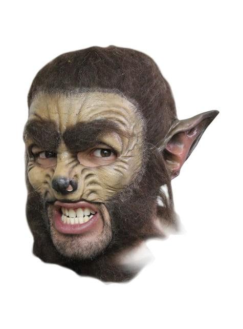 Halloweenská maska vlk deluxe