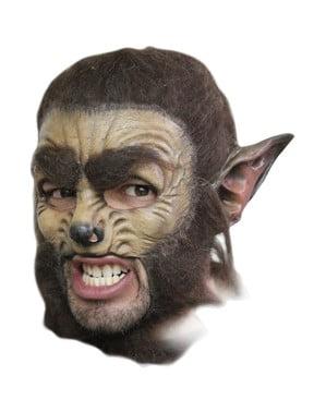 Mască de lup deluxe Halloween