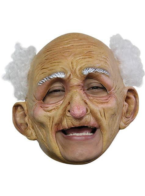 Maska stařec deluxe
