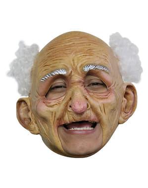 Fröhlicher Opa Maske kinnlos