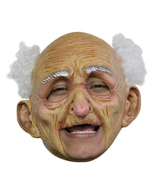 Gammal man deluxe Mask