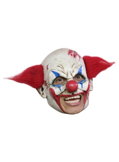 Máscara de palhaço terrífico deluxe
