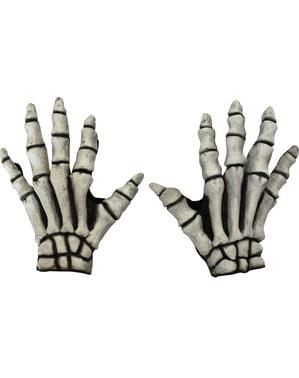 Gants de mains de squelettes