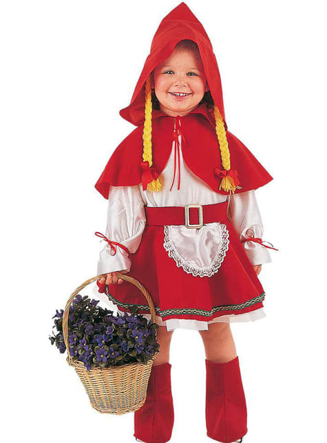 Deluxe Little Red Riding Hood Costume for Babies