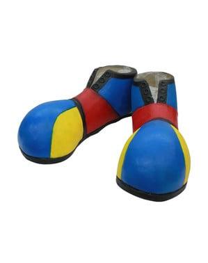 Sapatos de palhaço Halloween