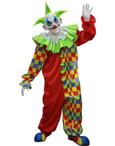 Disfraz de payaso Old Clown Halloween deluxe