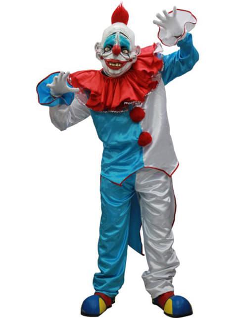 Disfraz de payaso Goofy Halloween deluxe