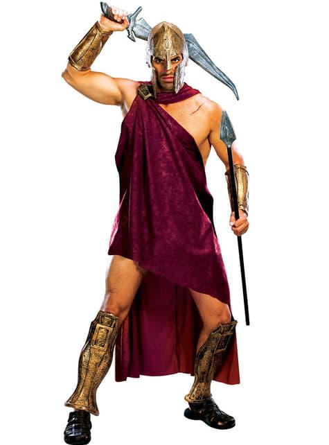 Deluxe Spartansk Kostyme Voksen