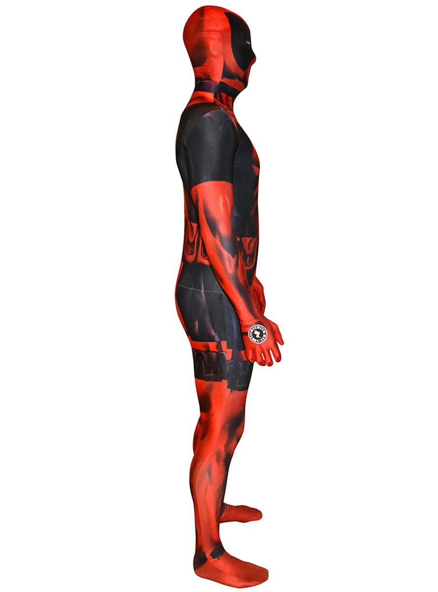 deadpool morphsuit adult costume  the coolest