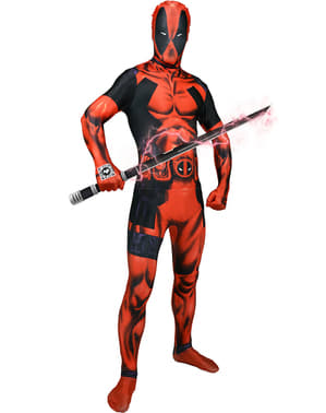 Fato de Deadpool digital Morphsuit