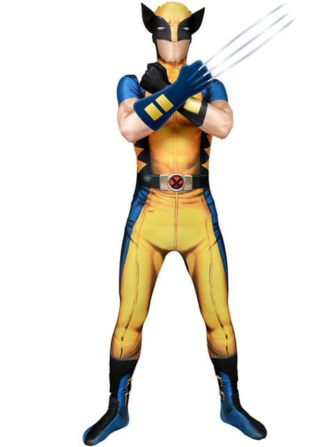 Wolverine Morphsuit Adult Costume