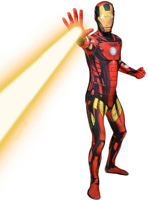 Disfraz de Iron Man Morphsuit - hombre