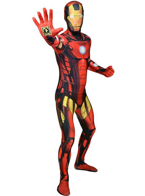 Disfraz de Iron Man Morphsuit - traje