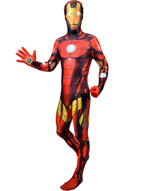 Iron Man Morphsuit Adult Costume