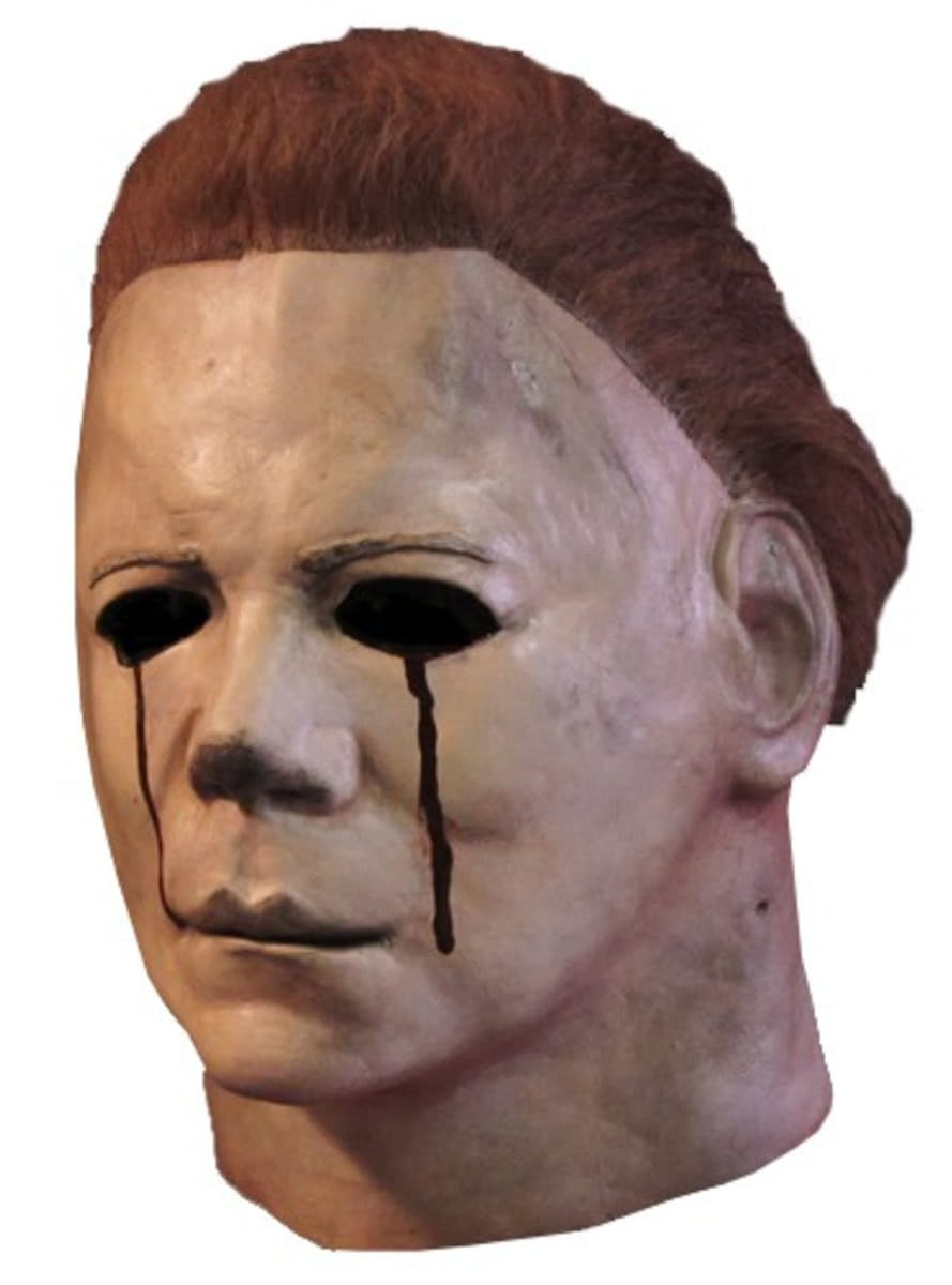 Tears of Blood Michael Myers Halloween II Mask: buy online at ...