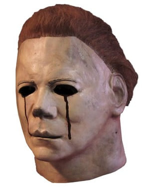Máscara de lágrimas de sangue de Michael Myers Halloween II
