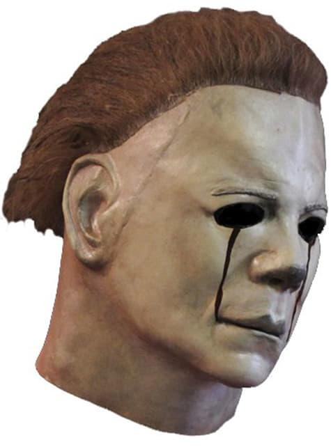 Michael Myers Maske mit blutigen Tränen Halloween 2