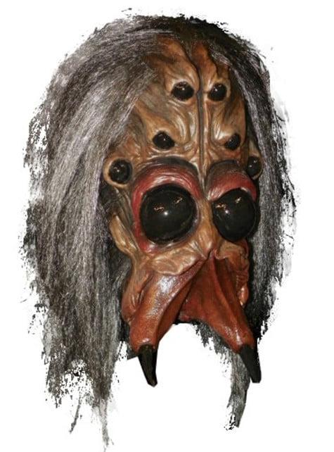 Halloweenská maska arachnid