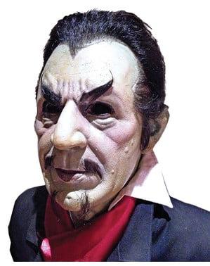 Zombi Béla Lugosi Dracula naamio