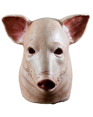 Blødende gris maske