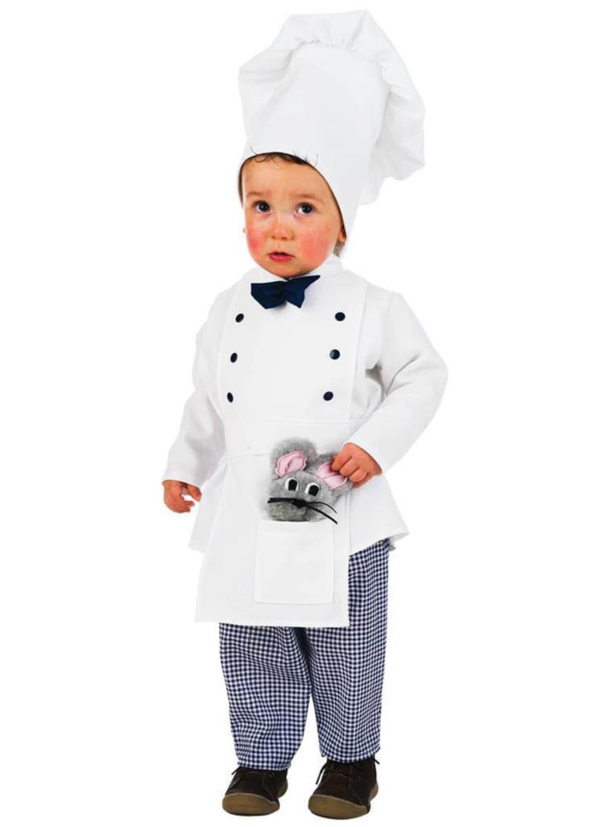 Costume de cuisinier b b acheter en ligne sur funidelia - Deguisement en o ...