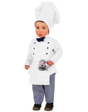 Бебешки костюм на малък готвач