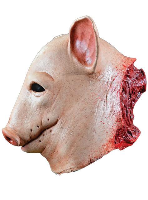 Masque de cochon sanglant