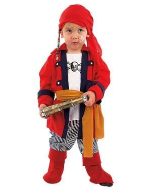 Bucaneer Pirat Gutt Spedbarn Kostyme