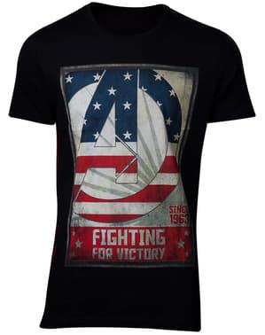 T-shirt The Avengers vuxen