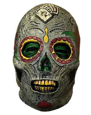 Máscara de muerte mexicana