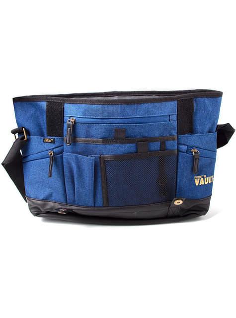 Blauwe Fallout messenger bag