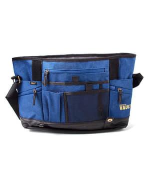 Blue Fallout messenger bag