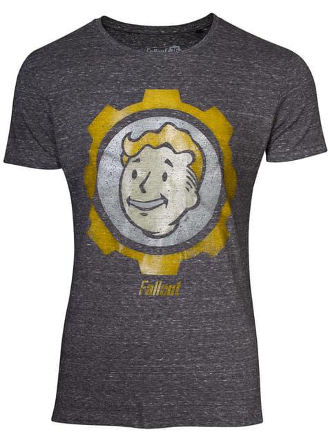 Camiseta de Fallout Vault gris para hombre