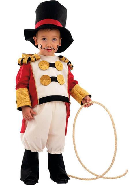 Disfraz de domador circo bebé