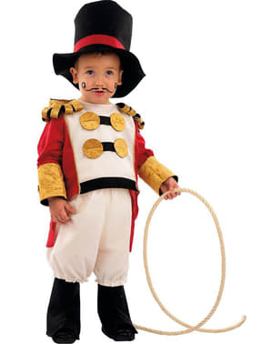 Cirkus dyretæmmer kostume til babyer