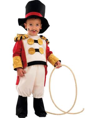 Fato de domador de circo para bebé