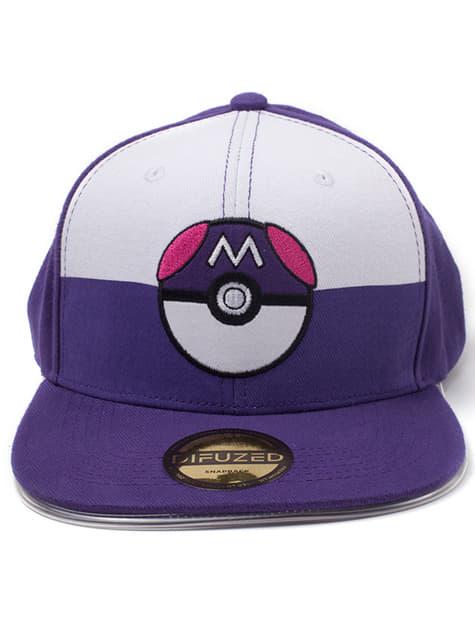 Pokemon with blue Pokeball cap