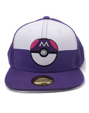 Casquette Pokémon avec Pokeball bleue