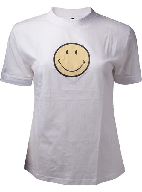 Hymynaama T-paita naisille