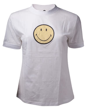Smiley T-Skjorte til dame