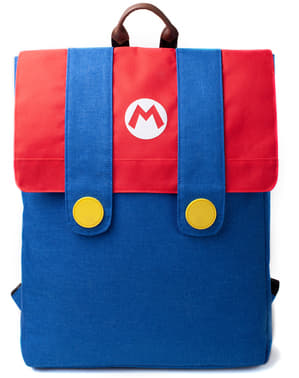 Super Mario Bros Denim backpack