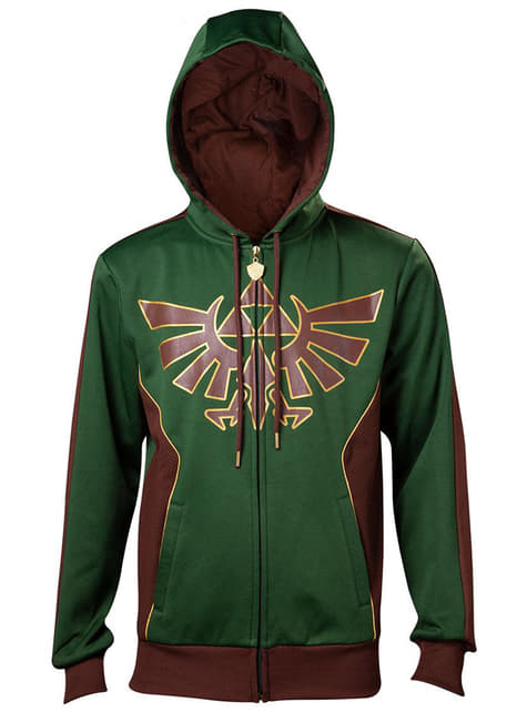 Legend of Zelda Hylian Crest hoodie for men