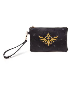 Portafoglio di Zelda logo dorato- The Legend of Zelda