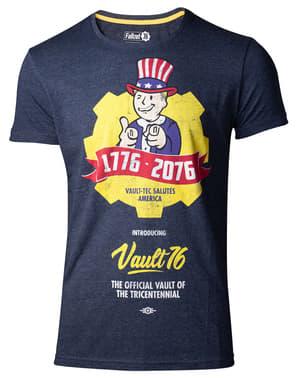 T-shirt Fallout Vault 76 vuxen