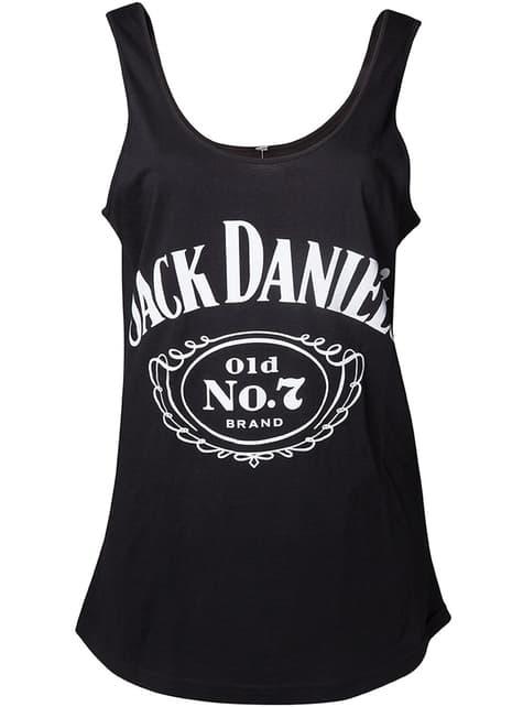 Camiseta de Jack Daniel's tirantes para mujer