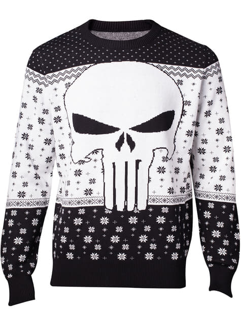 Jersey de Punisher de navideño para hombre - Marvel