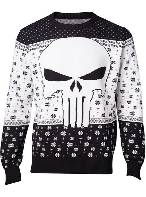 Punisher Christmas sweatshirt for men - Marvel